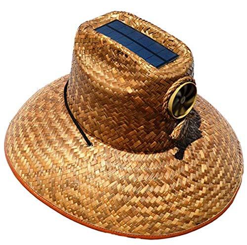 Kool Breeze Men's Solar Fan Thurman Hat