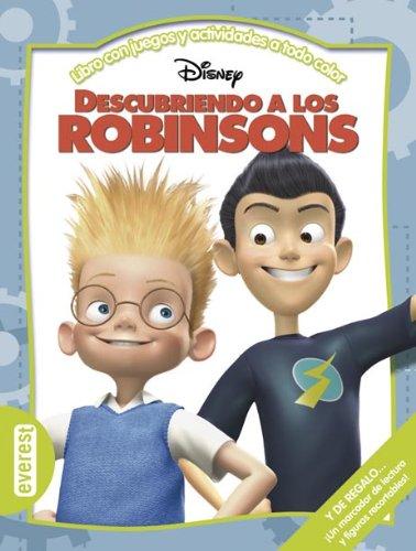 Descubriendo a los Robinsons: Libro con juegos y actividades a todo color. (Multieducativos Disney)