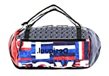 Desigual Duffle Backpack Tubular Duffle Backpack Royal