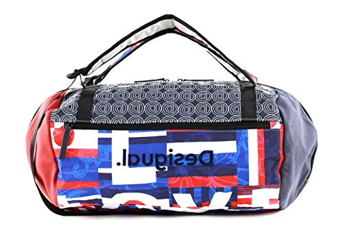 Desigual Tubular Duffle Backpack Royal