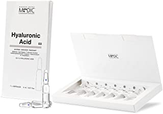 MEDIC - Low Molecule Hyaluronic Acid Youth Matrix Activator- to Improve the Skin's Three-Dimensional Structure. Intensive 7 days Treatment - 2mlx7 NOT AN INJECTABLE FILLER