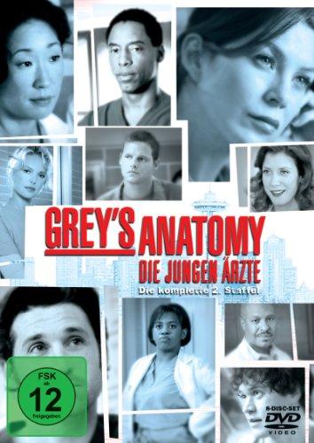 Grey\'s Anatomy: Die jungen Ärzte - Die komplette 2. Staffel [8 DVDs]