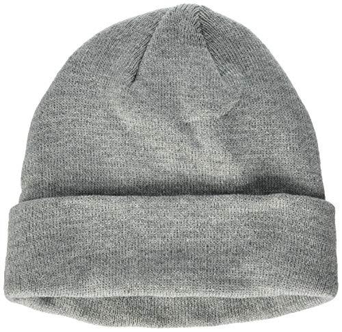 Build Your Brand Heavy Knit Beanie Bonnet, Gris, Taille Unique Mixte