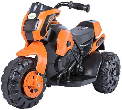 Baybee Damned GS-800 Battery Operated Sports Bike   Single Motor Ride On Bike with 20 Kg Weight Capacity Kids Bike / Bike for Kids / -- Orange
