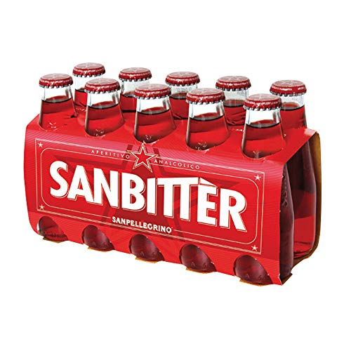 S.Pellegrino S. PELLEGRINO 4 Aperitifs Analyse Sanbitter Dry 100 ml 10 Stück