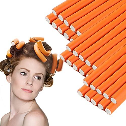 30 Pieces Flexible Curling Rods Twist Foam Hair Rollers Soft Foam No...