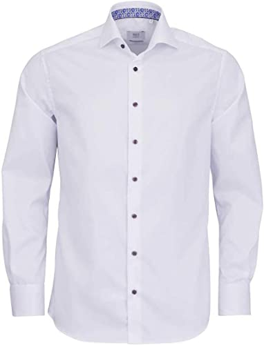 Eterna Chemise à Manches Longues Modern FIT Twill uni