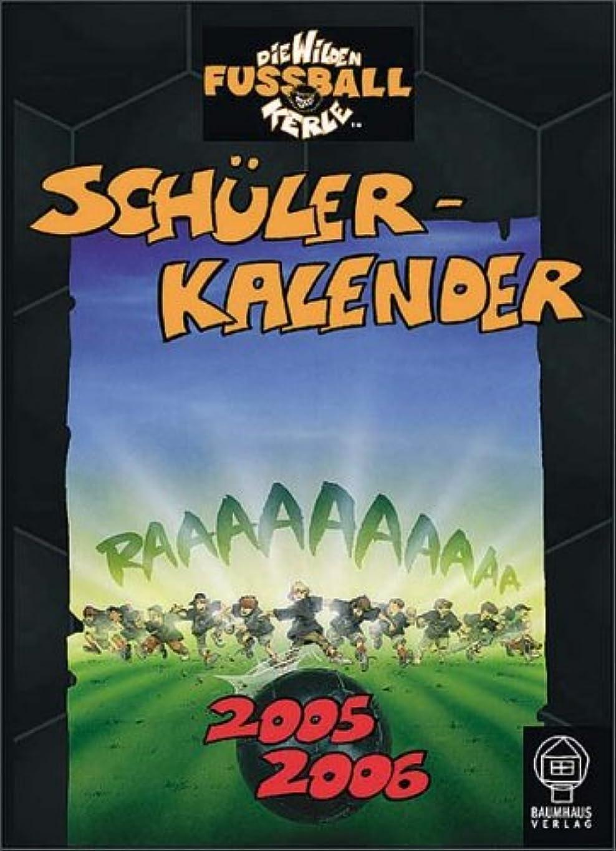 統計的儀式大きさWilde Fussballkerle-Taschenkalender 2005/2006.