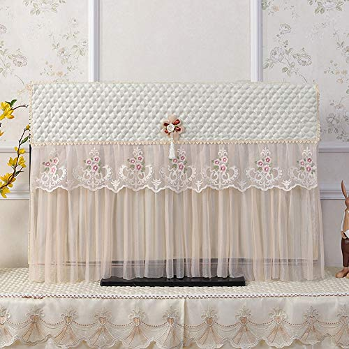 catch-L TV De 55 Pulgadas Monitor Gab Cubierta De Polvo Computadora De Escritorio Ultradelgado Cubierta Antipolvo (Color : Beige, Size : 58-60 Inches)