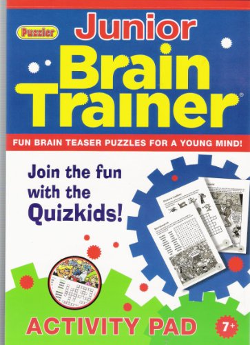 Brain Trainer Junior Activity Pad