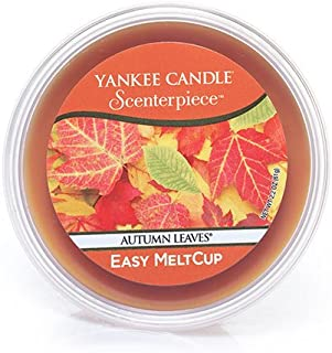 Yankee Candle Autumn Leaves Scenterpiece Easy MeltCup, Fresh Scent