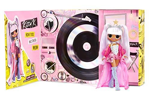 LOL Surprise OMG Remix , Con 25 Sorpresas , Muñeca de Moda Coleccionable, Ropa y Accesorios , Kitty K