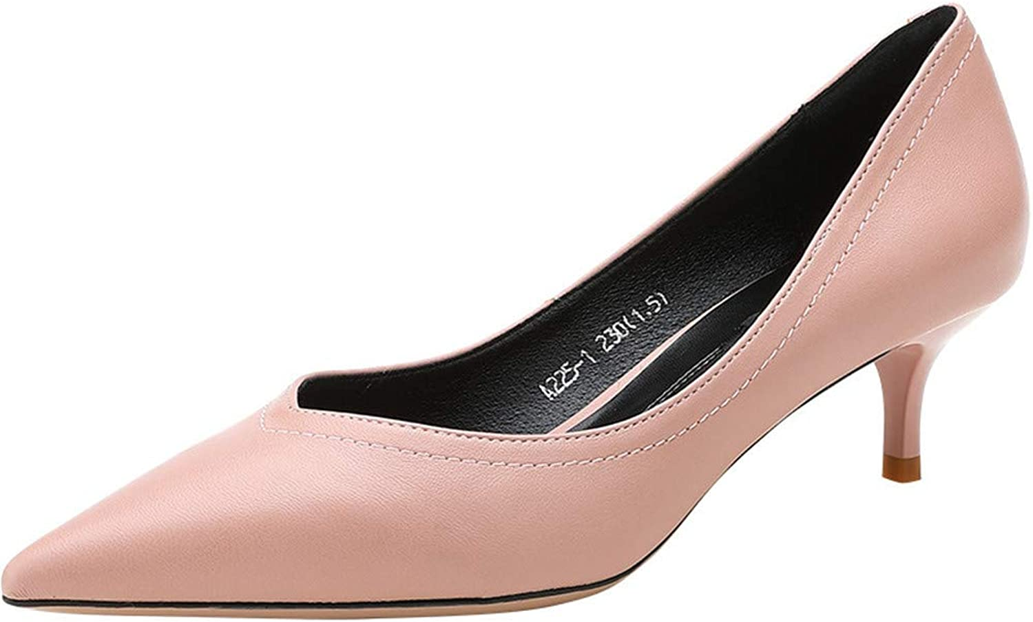 Meiren High Heel Women's Pink Stiletto with Pointed shoes