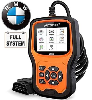 AUTOPHIX BMW Diagnostic Scanner Tool ,Enhanced BMW 7910 Multi-System OBD2 Scanner Auto Fault Code Reader with Battery Registration for All BMW After 1996
