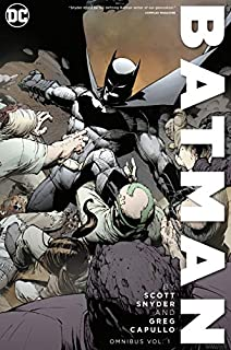 Batman by Scott Snyder & Greg Capullo Omnibus Vol. 1 (1401298842) | Amazon price tracker / tracking, Amazon price history charts, Amazon price watches, Amazon price drop alerts