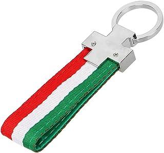 Universal Schlüsselanhänger aus Metall und Stoff. Style 3