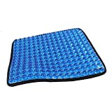 TOYOUN Gel Seat Cushion with Massage Hemispheroid Ergonomic Design for Sciatica Tailbone and Back Pain Relief Office Chair Car Seat Wheelchair Coccyx Cushion Pad