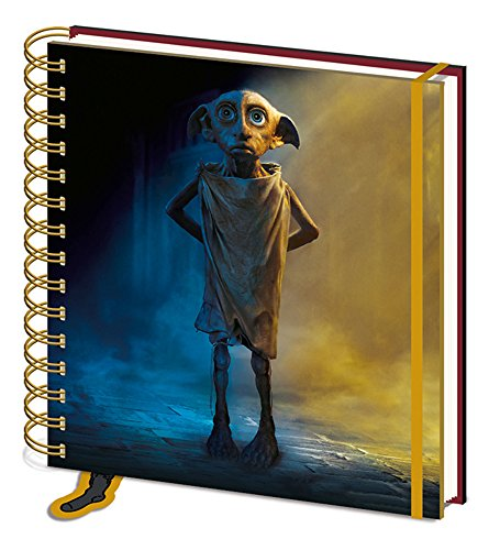 Harry Potter Dobby - Cuaderno (15 x 16 cm, formato práctico)