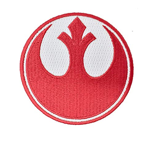 Gesticktes Eisen der Star Wars Rebel Alliance Red Squadron auf Patch (75 mm)