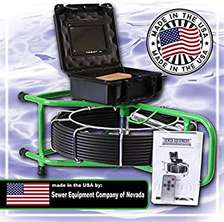 SECON-Microsm 100' Color Sewer Camera Made in The USA by Sewer Equipment Company of Nevada Designed for 1½