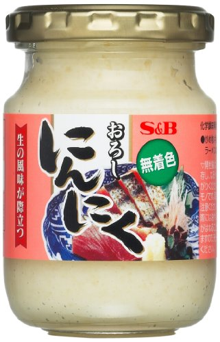 エスビー食品 ビン入り おろし生にんにく 80g [8196]