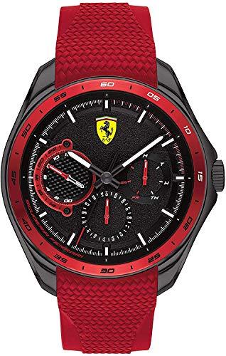 Scuderia Ferrari Speedracer Analog Black Dial Men's Watch-0830681