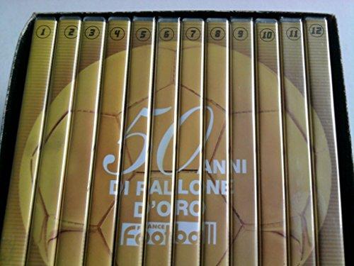 France Football '50 Anni Di Pallone D'Oro' (Ballon D'Or) - Opera Completa (Box Cartonato + 12 Dvd) (Edizione Editoriale)