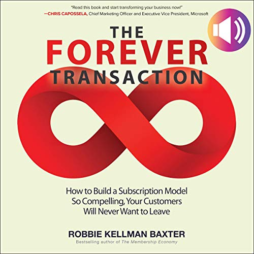 The Forever Transaction audiobook cover art