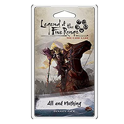 Legend of the Five Rings LCG: All and Nothing by Fantasy Flight Games