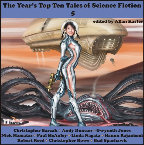The Year's Top-Ten Tales of Science Fiction 5 audiobook cover art