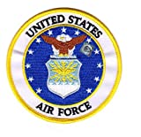 EAGLE CREST U.S. Air Force Seal USAF 4' Embroidered Patch