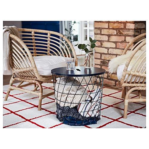Tok Mark Traders BUSKBO fotel, rattan, 42 x 72 x 63 cm, trwały i łatwy w pielęgnacji. Fotel rattanowy. Fotele i krzesła na kanapie i fotele. Meble przyjazne dla środowiska.