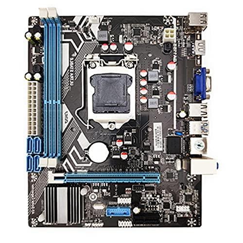 H61 LGA 1155 - Placa base (DDR3, memoria de 2 canales, 16 G, para H61 LGA1155 Core I3 I5 I7 Xeon CPU, placa base 1155, sintonizador automático de antena, placa controladora y analizador de señal