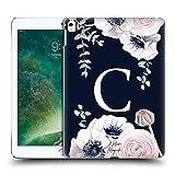 Head Case Designs Officiel Nature Magick Lettre C Monograme Floral Bleu Navy Fleurs 1 Coque Dure...