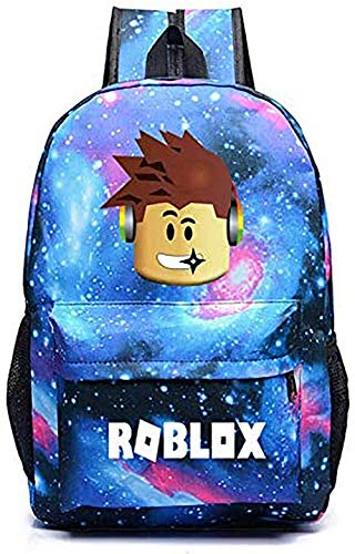 Lelestar Kids Backpack Luminous Daypack-Roblox School Bookbag Laptop Backpacks for Boys Girls Kids Teenagers Game Fans Gift (Colour 3)