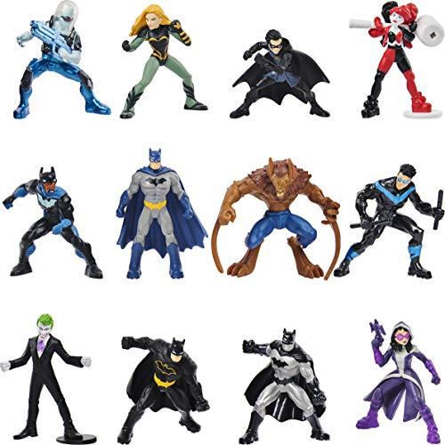 DC Comics Batman 5cm-Sammelfigur - Sortierung mit unterschiedlichen Charakteren