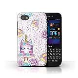 eSwish Hülle/Case für BlackBerry Q5 / Bling Diamant
