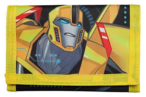 Undercover TFUV7010 - Geldbörse aus Polyester für Kinder, Transformers mit Bumblebee Motiv, ca. 8 x 13 x 2 cm
