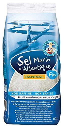 Probios Sal Marina Fina de L'Atlantico No Refinada no Tratada - paquete de 6