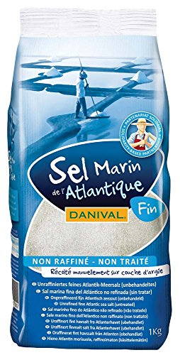 DANIVAL 12265 Danival Atlantik Sea Salt Fine 1 kg 1 x 1000 gr,