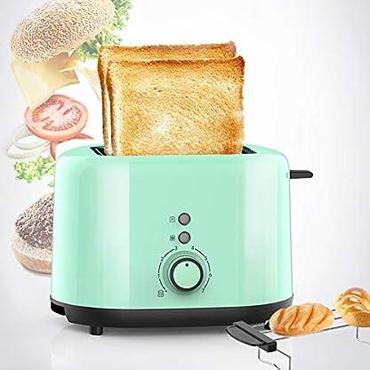 Toaster-2-Slice–mit-7-Farbeinstellungen-Abbrechen-Auftauen-Aufwaermen-Funktion-Edelstahl-Breitschlitz-Toaster–Abnehmbare-Kruemelschale-und-automatischer-Bounce-Compact-Retro-Toaster