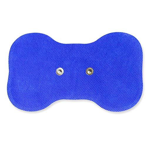 Med-Fit - Almohadillas autoadhesivas de mariposa inalámbricas para uso con Med-Fit Wireless TENS y el sistema sin dolor TENS (3 unidades)