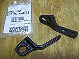 Wacker WP1550 / WP1540 Plate Compactor tamper Wheel Kit Bracket Pair 0161041