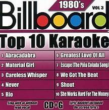Billboard Top-10 Karaoke - 1980's Vol. 3 (10+10-song CD+G) by Party Tyme Karaoke (2007-08-21)