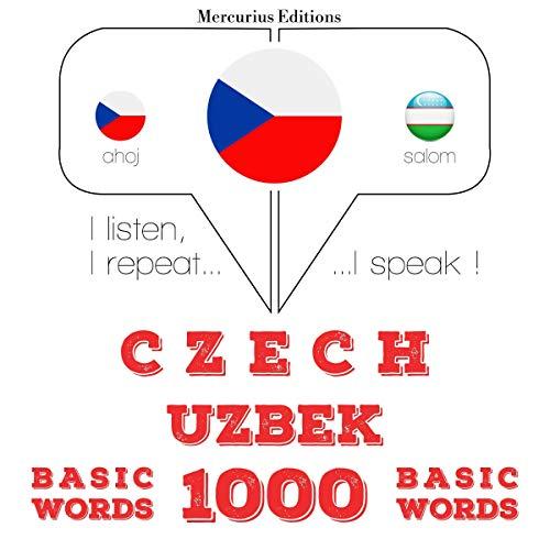Czech - Uzbek. 1000 basic words cover art