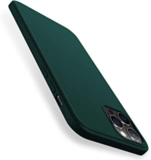 X-level Compatible with iPhone 12 Pro Max Case Silicone Slim Thin Soft Gel Rubber with Camera Protection Anti-Slip Anti-Sc...