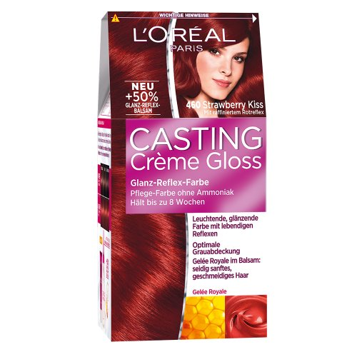 L'Oréal Paris Casting Crème Gloss Glanz-Reflex-Intensivtönung 460 in Strawberry Kiss