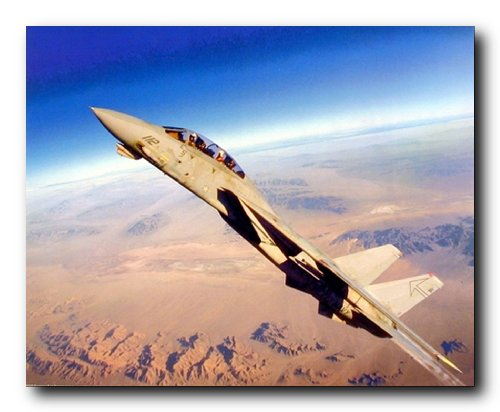 Aviation Wall Decor Grumman F-14 Tomcat Fighter Jet Flugzeug Kunstdruck Poster (16x20)