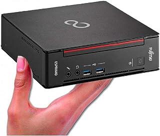 富士通 ミニ PC/ESPRIMO Q556/第6世代Core i3/DDR4 4GB/新品SSD:SSD256GB/Win10 Pro/5G-WiFi/省スペース/静音/ファンなし(整備済み品)