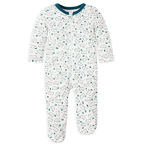 Froerley Pijama Bebe Algodon, Pijamas Bebe Niño, Pijama Bebe 3-6 meses Verano Nino, Pijama Familiar, Ropa Bebe Niño, Pack de 2